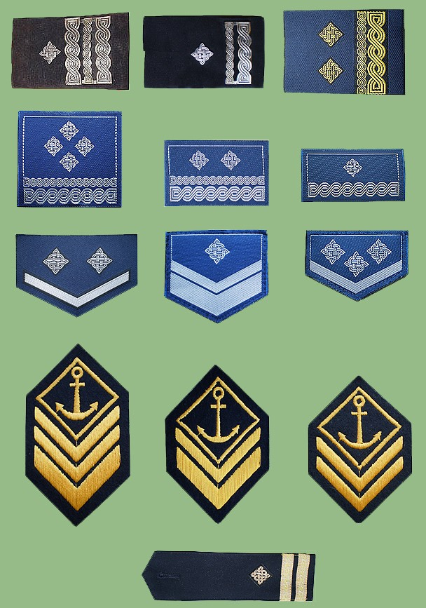 Croatian armed forces insignias Crocin12