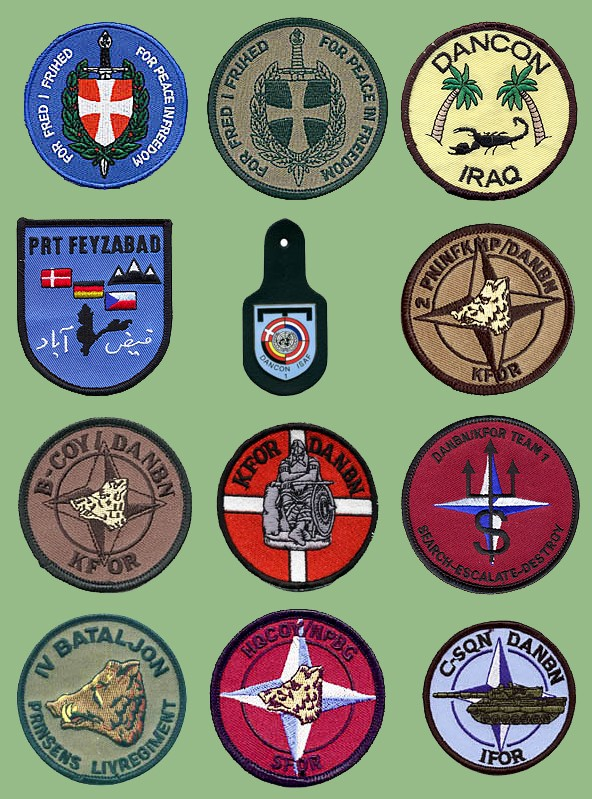 Danish military insignias from my collection
