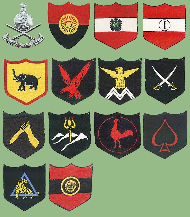 Indai - military insignias Indiav10