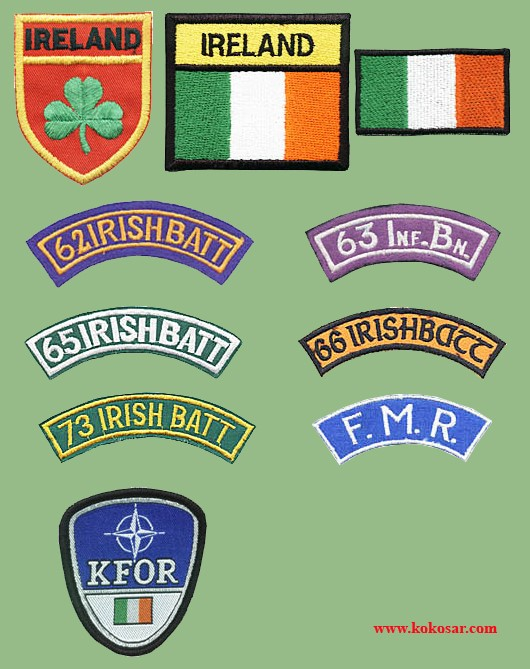 Irish Military Insignia Irskav11