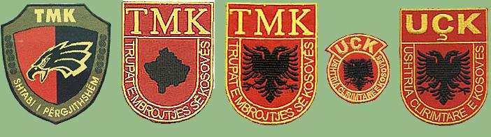 Few insignias from Kosovo Kosovo10