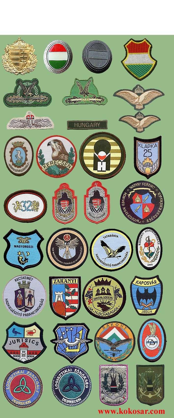 Hungarian military insignias Madars10