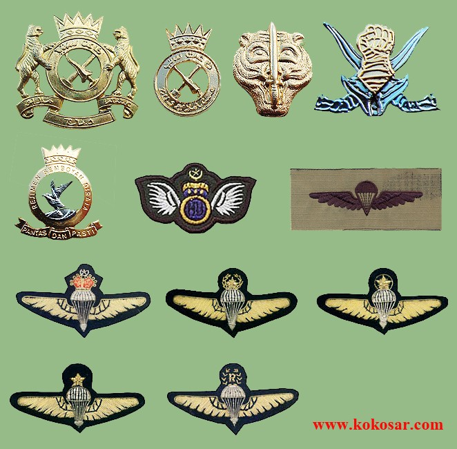 The Malaysian Armed Forces insignias Malezi10