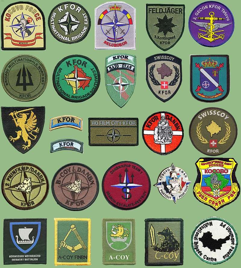 NATO insignias used on ex Yugoslavia territories Nato-k11