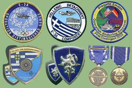 NATO insignias used on ex Yugoslavia territories Nato-o10