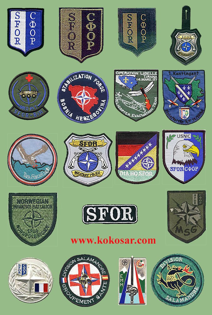 NATO insignias used on ex Yugoslavia territories Nato-s10