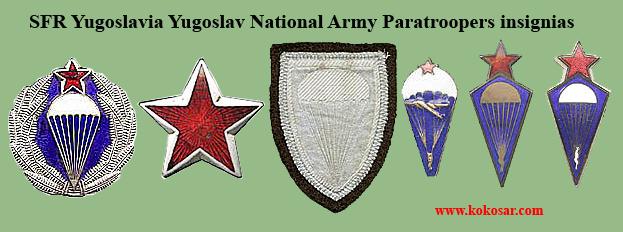 Yugoslav National Army insignias Sfrj-p11