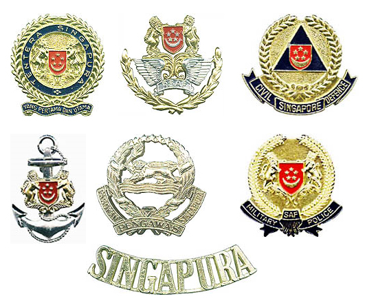 Singapore Armed Forces insignias Singap11