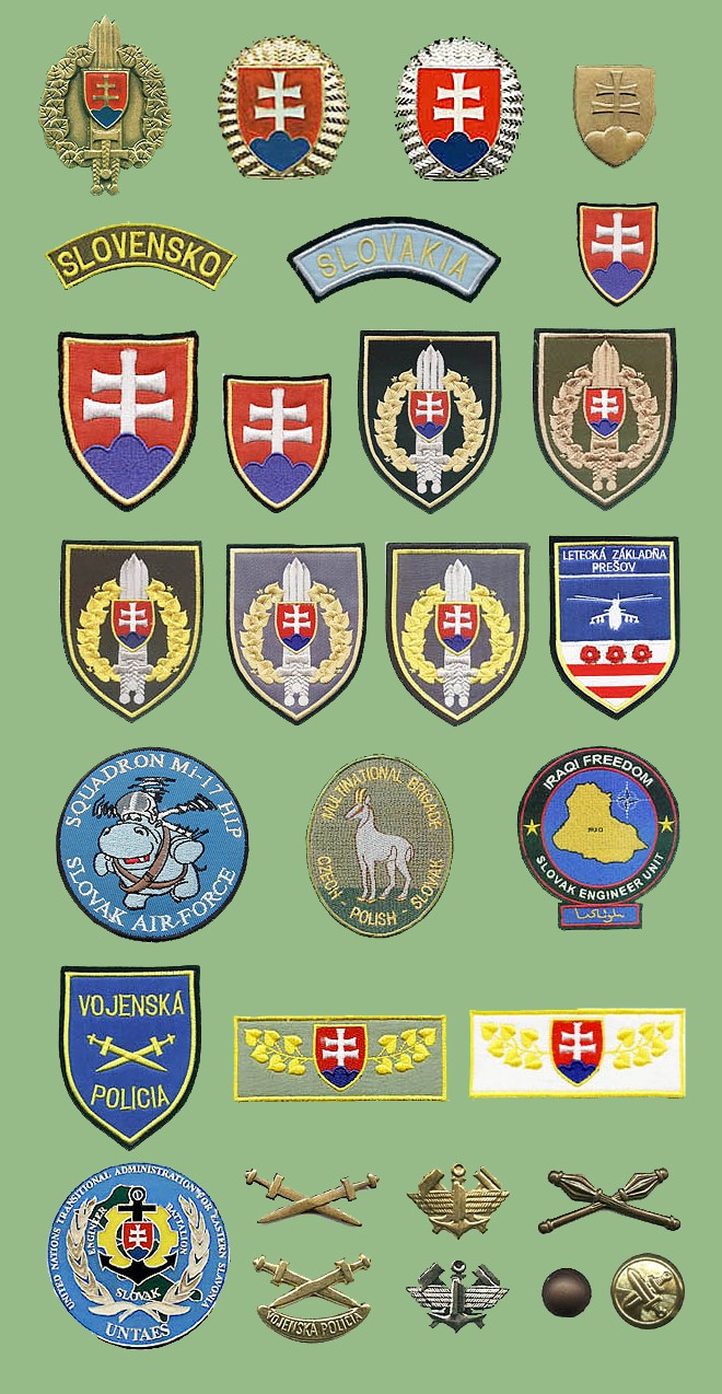 Slovakina patches and badges Slovac10