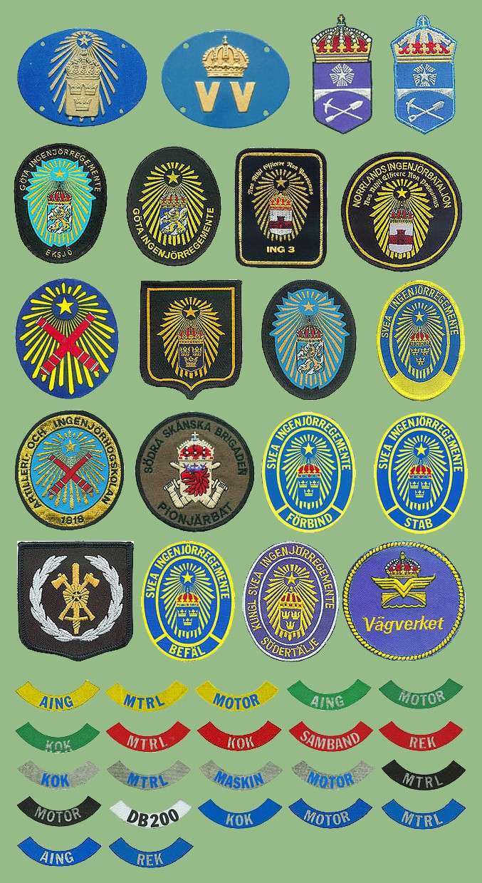 swedish military patches