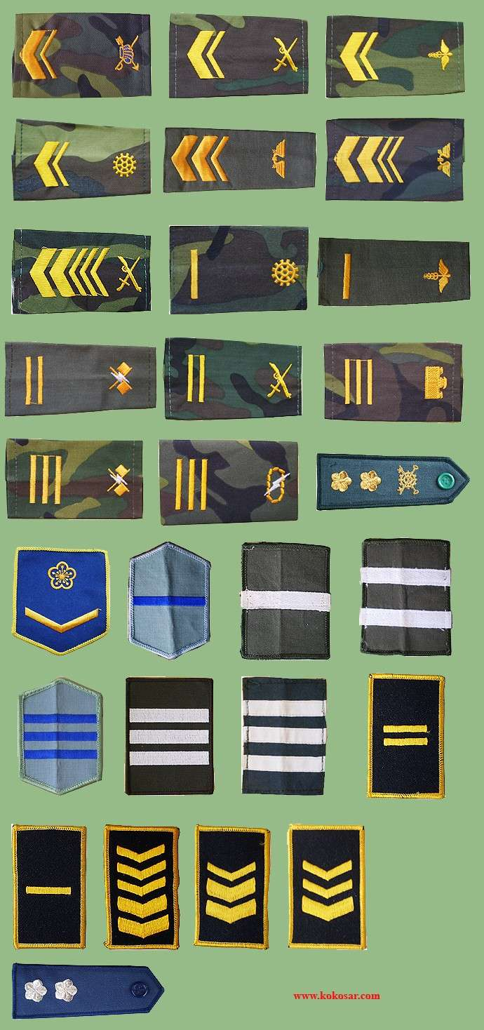 Taiwan Armed Forces insignias Taiwan14