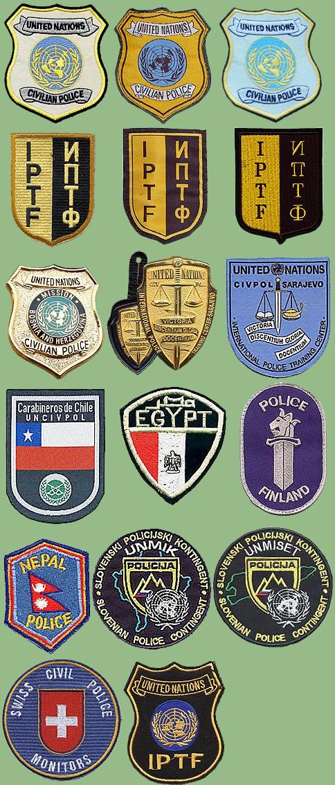 UN insignias from my collection Un-civ10