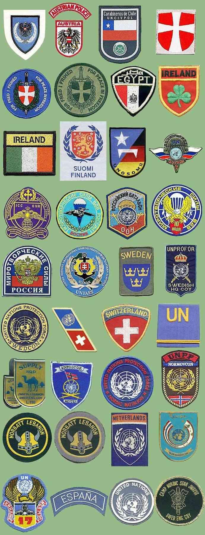 UN insignias from my collection Un-nac10