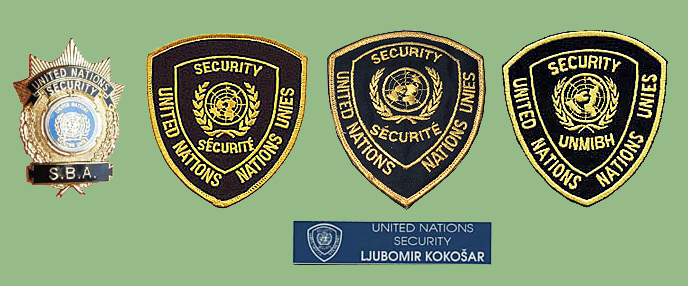 UN insignias from my collection Un-sec11