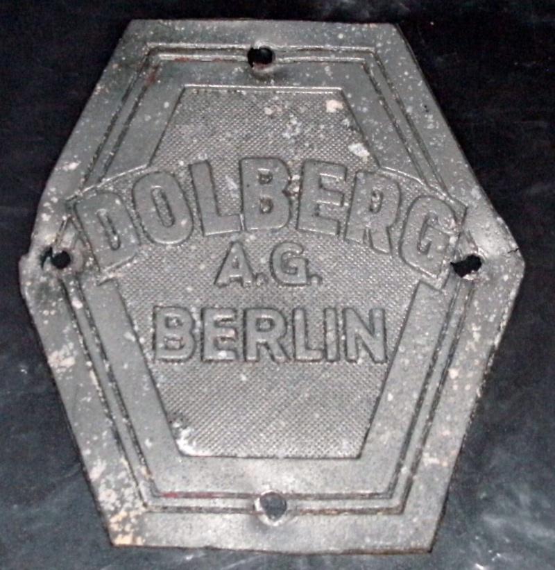 Dollberg Typenschild gefunden Pict0815