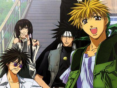 ¿De que anime se trata? Get-ba10
