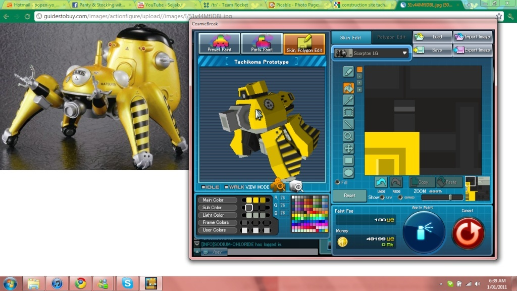 Cheap robot appreciation Tachik11