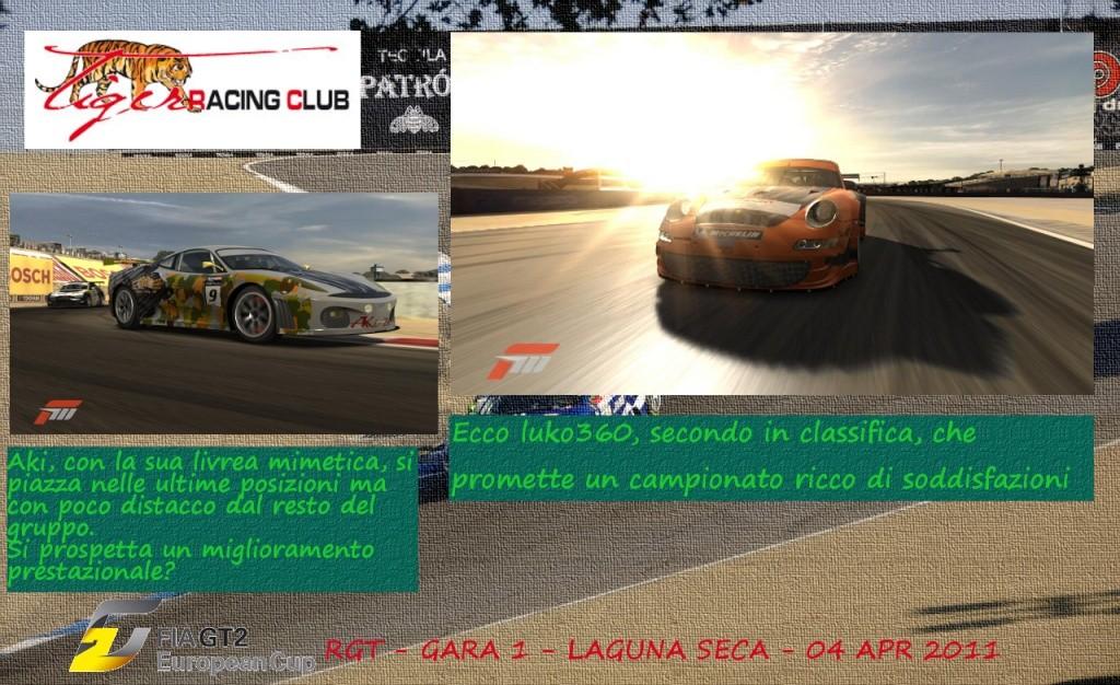 [ALBUM GARA FM3] - CAMPIONATO FIAGT2 - Gara 1- Laguna Seca Laguna10