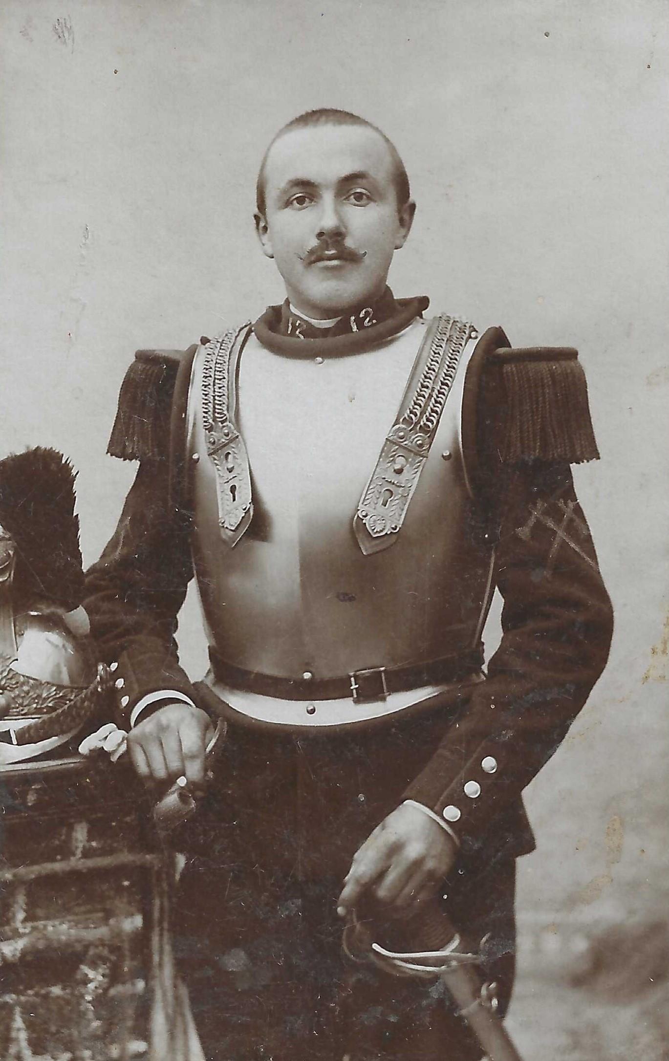 - Les Cuirassiers du Dauphin Cavalerie - - Page 2 Cdv_c112