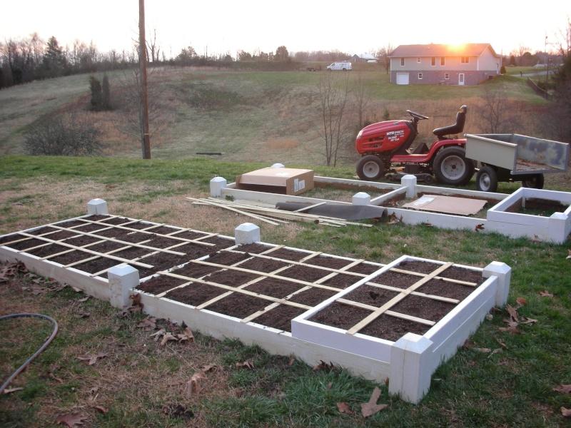 New beds are built... Dscn4014
