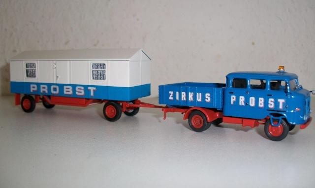 DDR Schausteller und Zirkusfahrzeuge 1:87 Alim1610