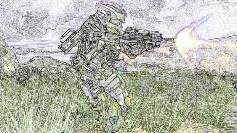 Halo Reach Photoshop Images Colore11