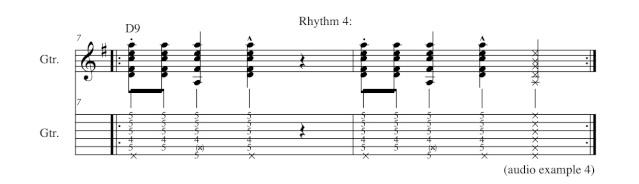 Basic Gypsy Jazz Comping Rhythm13