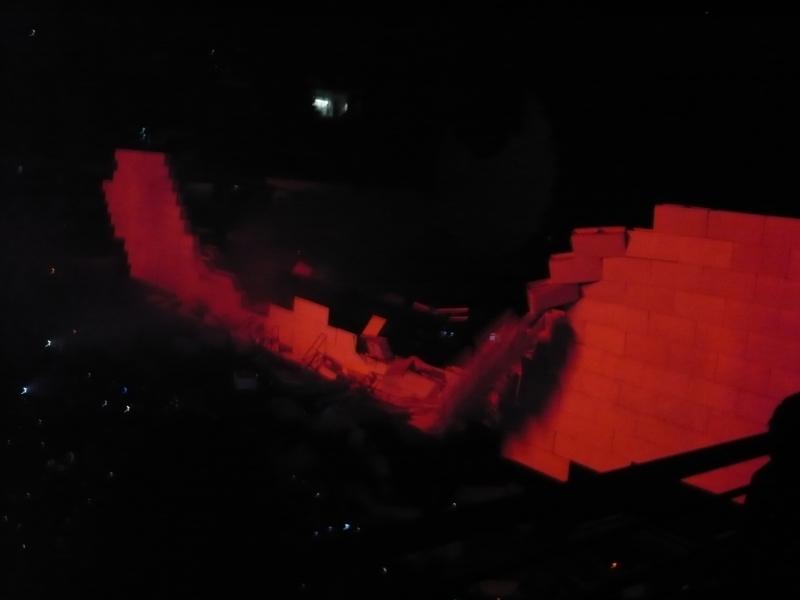 Concierto Roger Waters (the wall) 1010