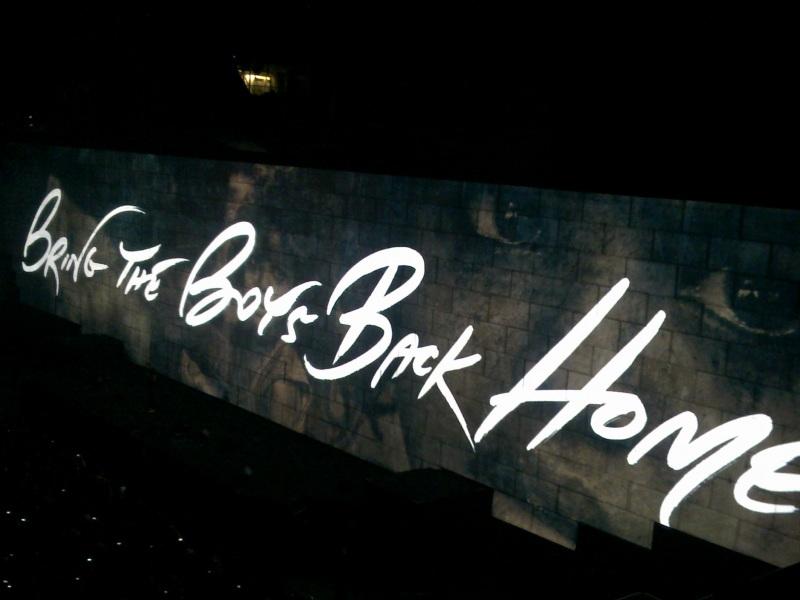Concierto Roger Waters (the wall) 610