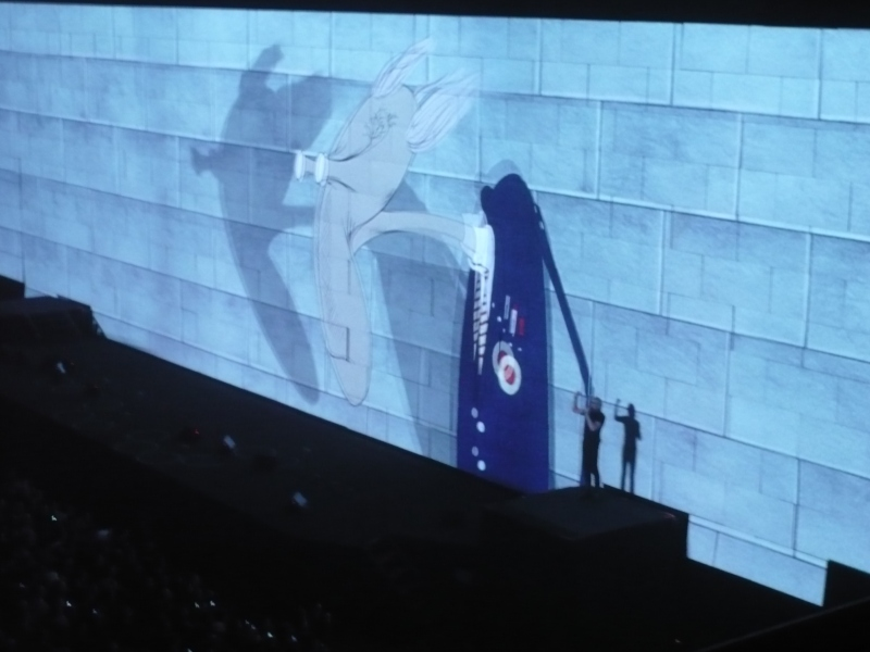 Concierto Roger Waters (the wall) 910