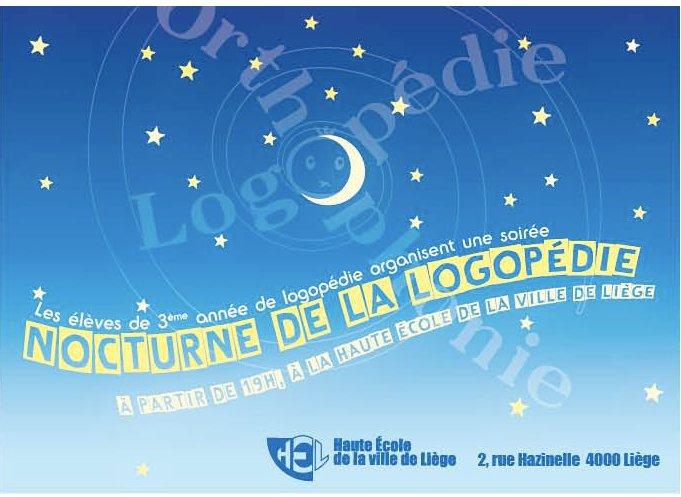 Nocturne de la logopédie à HEL  19006011