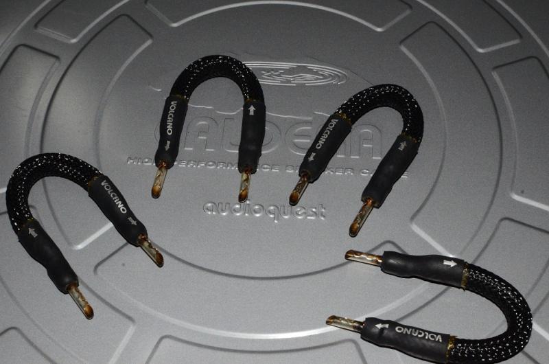 audioquest caldera speaker cable volcano speaker jumper sold. Black Bedroom Furniture Sets. Home Design Ideas