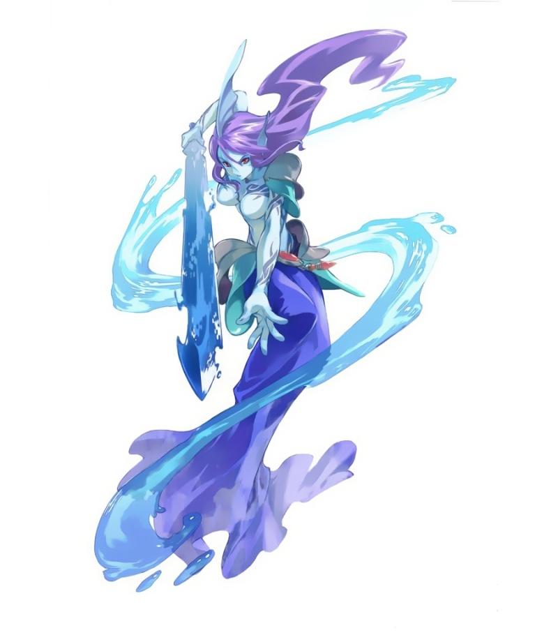 Flynn Tsumei Suzumiya: The White Knight  Undine10