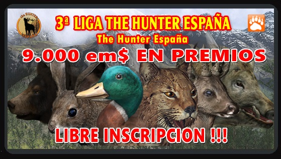 ¡POR FIN! 3º LIGA THE HUNTER ESPAÑA Torneo11