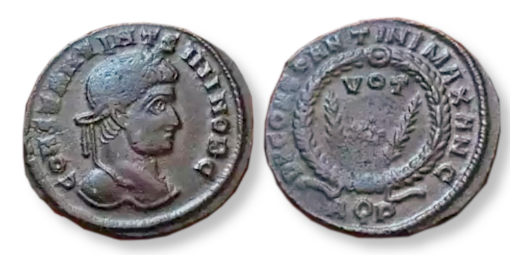 Constantin II - DN CONSTANTINI MAX AVG Nummus11