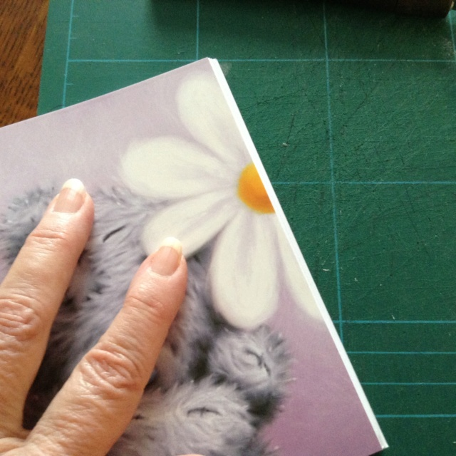 Turning a Birthday Card into a Notebook Image15