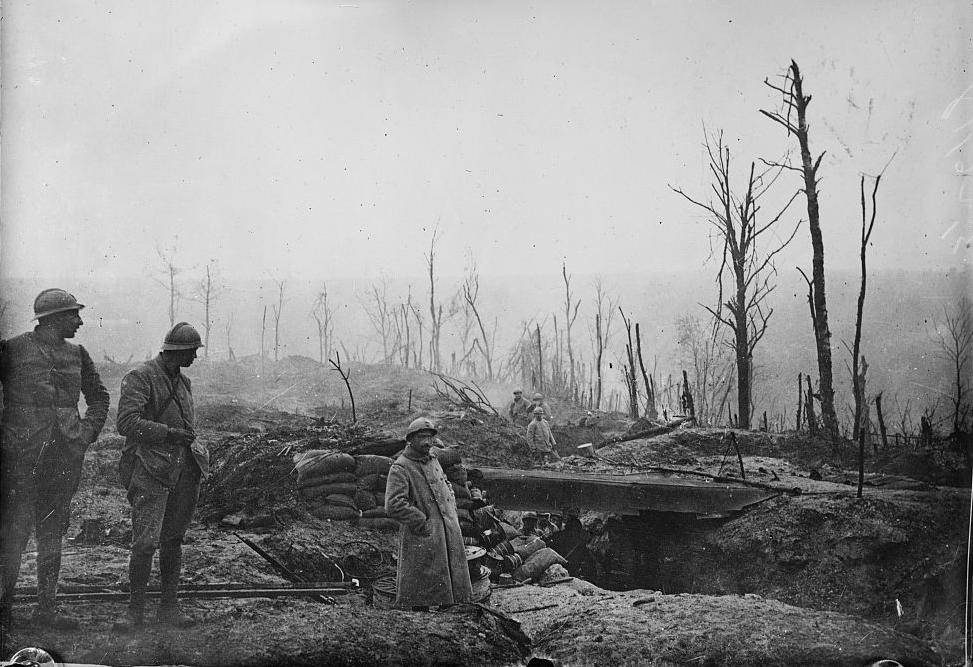 Vauquoi 14-18 , la guerre des mines  1371