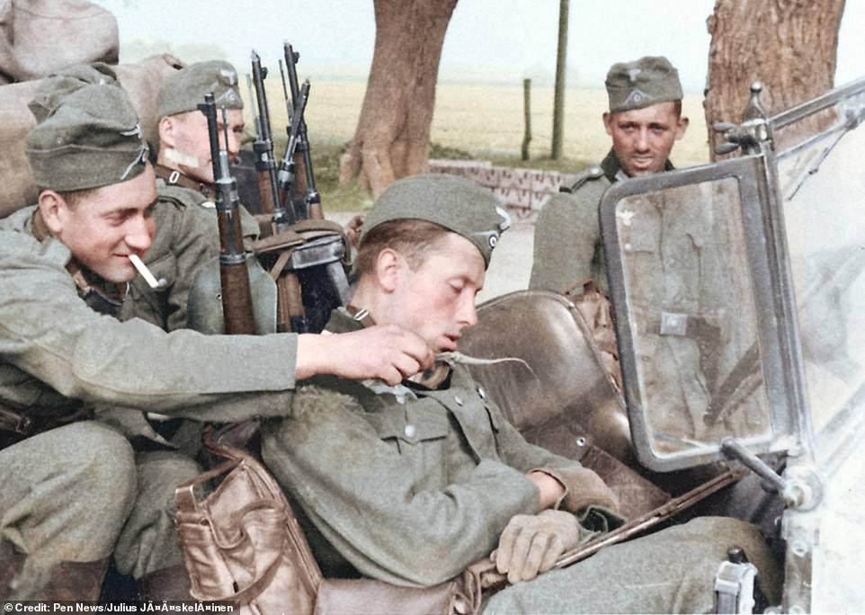 Diverses photos de la WWII 43719