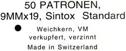 9 mm parabellum suisse 9para11