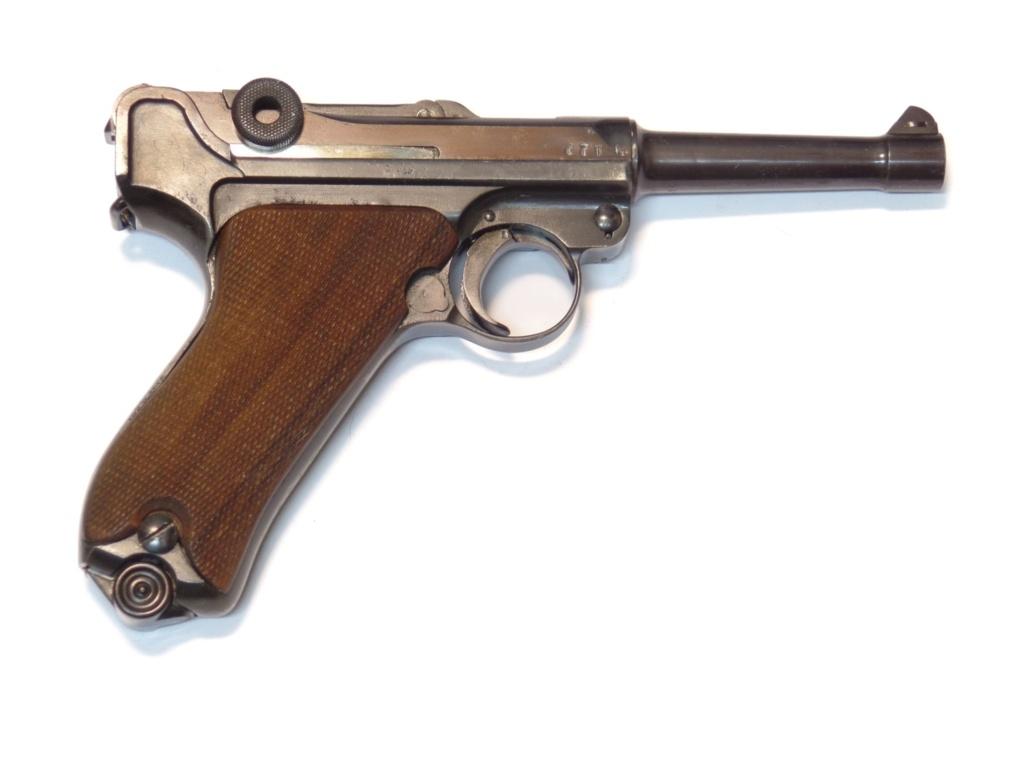 Histoire du Luger P08 9 mm Parabellum 1918 Luger_11