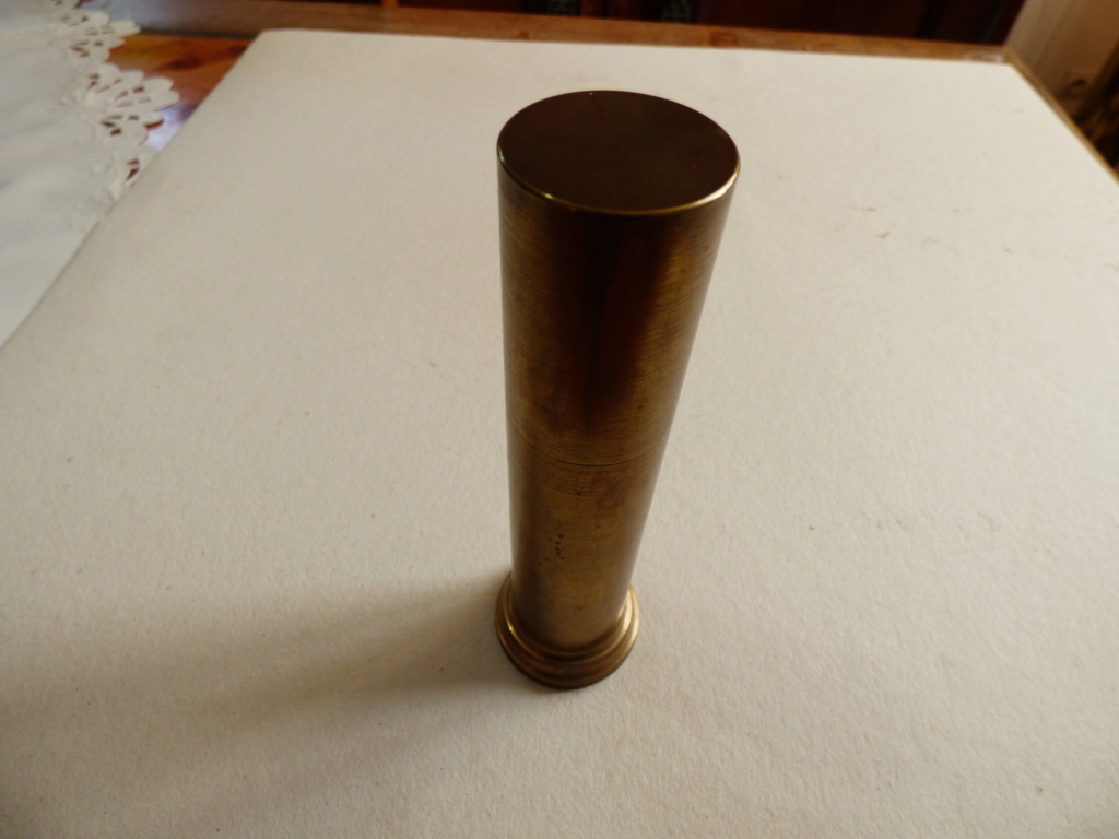 Douilles et objets de la WWI P1010585