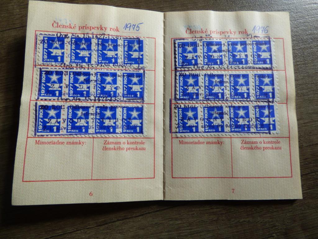 Carnet obligatoire du parti communiste tchécoslovaque P1020204