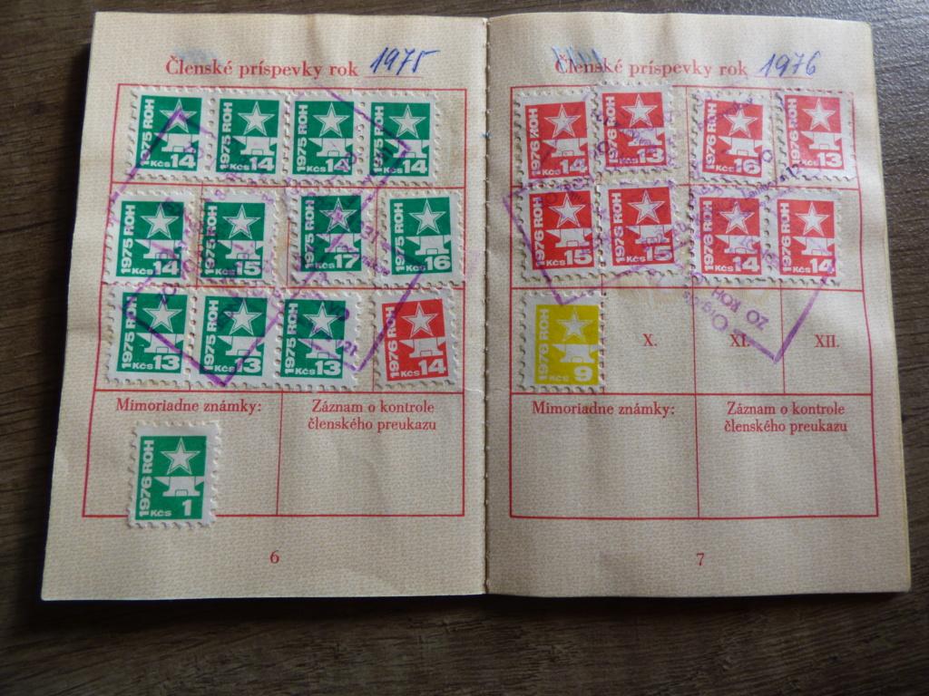 Carnet obligatoire du parti communiste tchécoslovaque P1020207