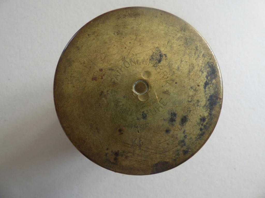 Douilles et objets de la WWI P1021119