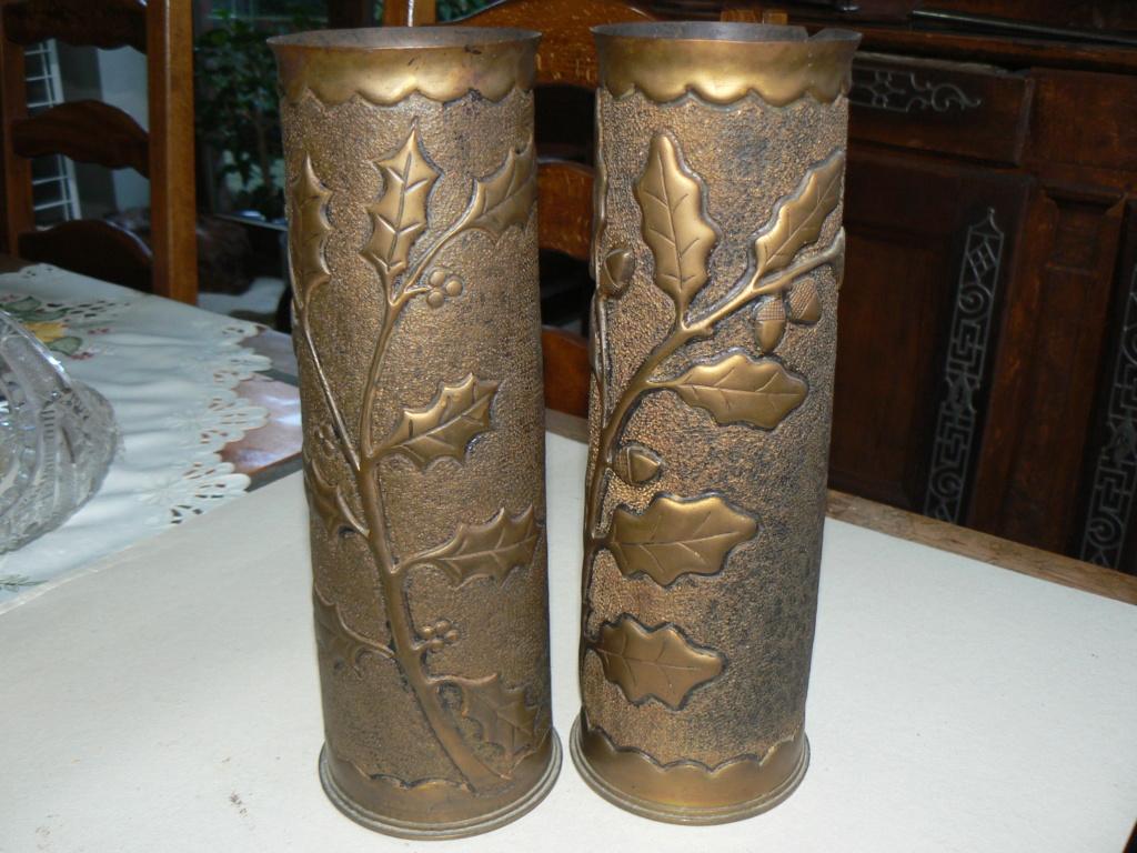 Douilles et objets de la WWI P1090833