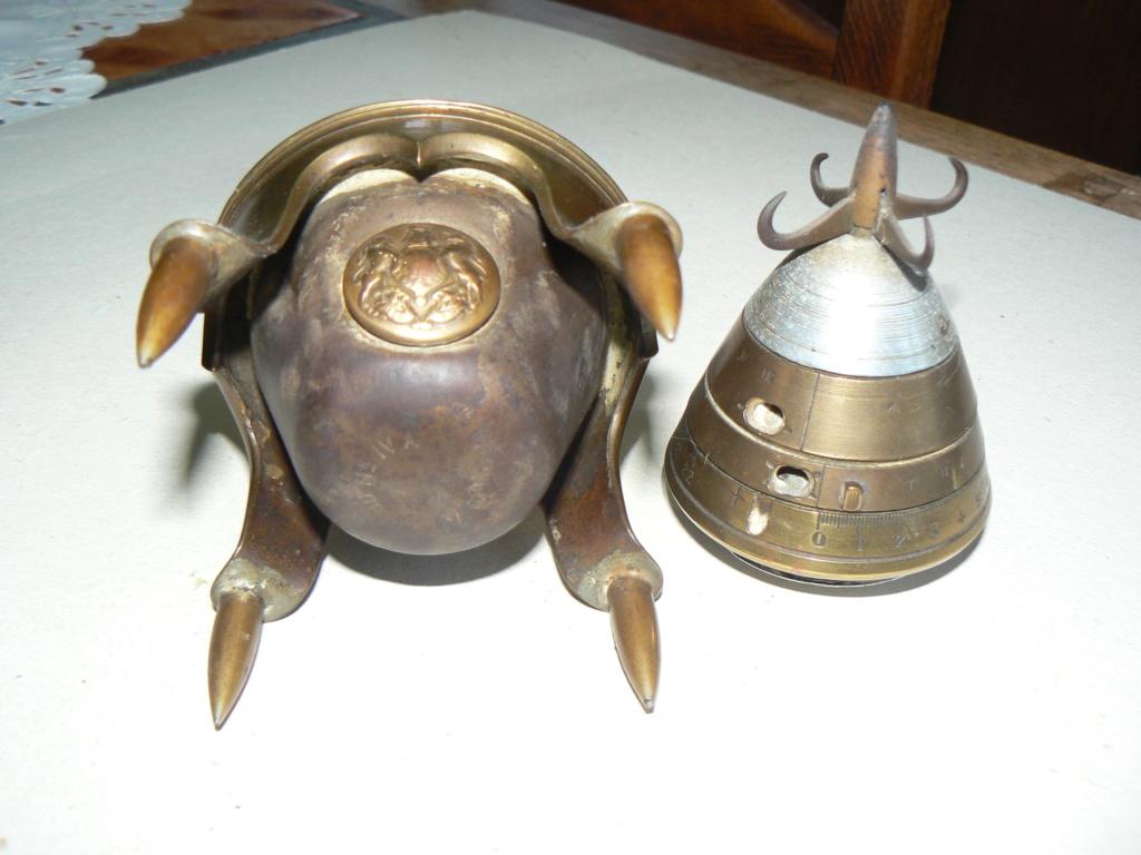 Douilles et objets de la WWI P1090837