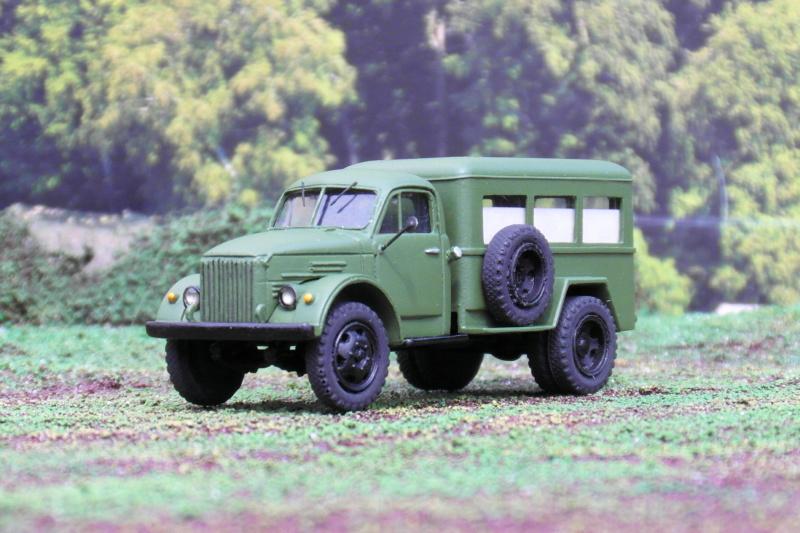 GAZ 63 ( PAZ653) Sanitätsfahrzeug 02912
