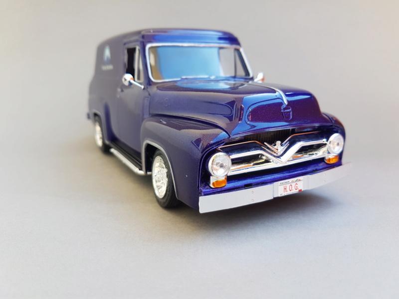 '55 Ford F-100 Panel Van von Revell 1:25 20200920