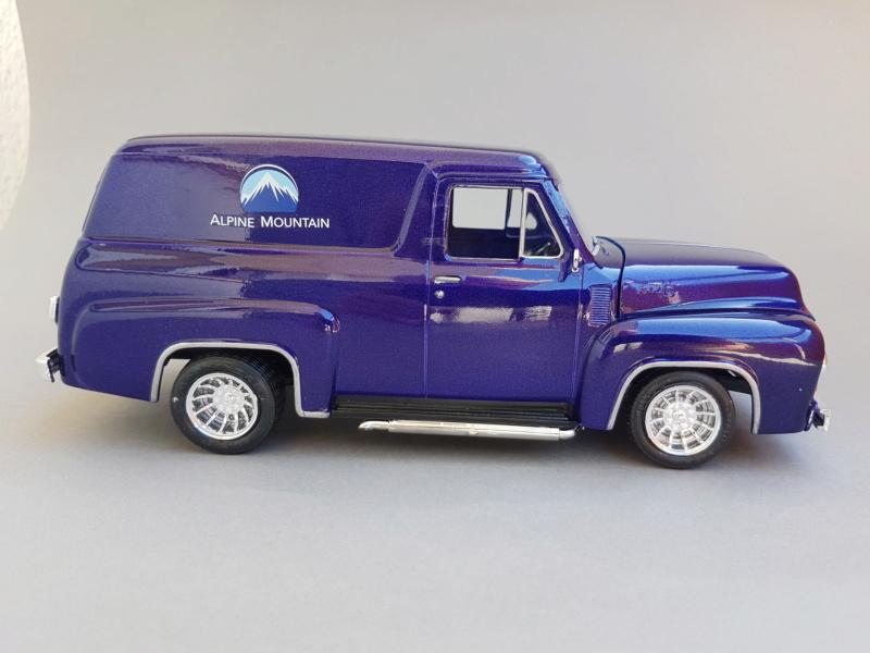 '55 Ford F-100 Panel Van von Revell 1:25 20200921