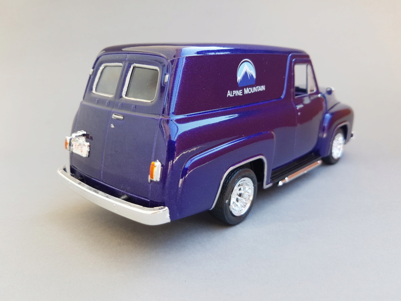 '55 Ford F-100 Panel Van von Revell 1:25 20200922